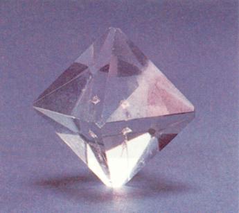 Potassium alum sulfate crystal