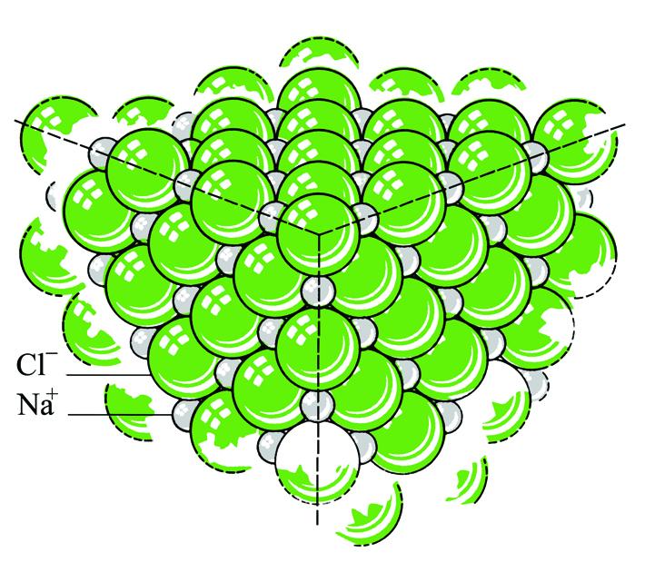 Sodium chloride crystal2