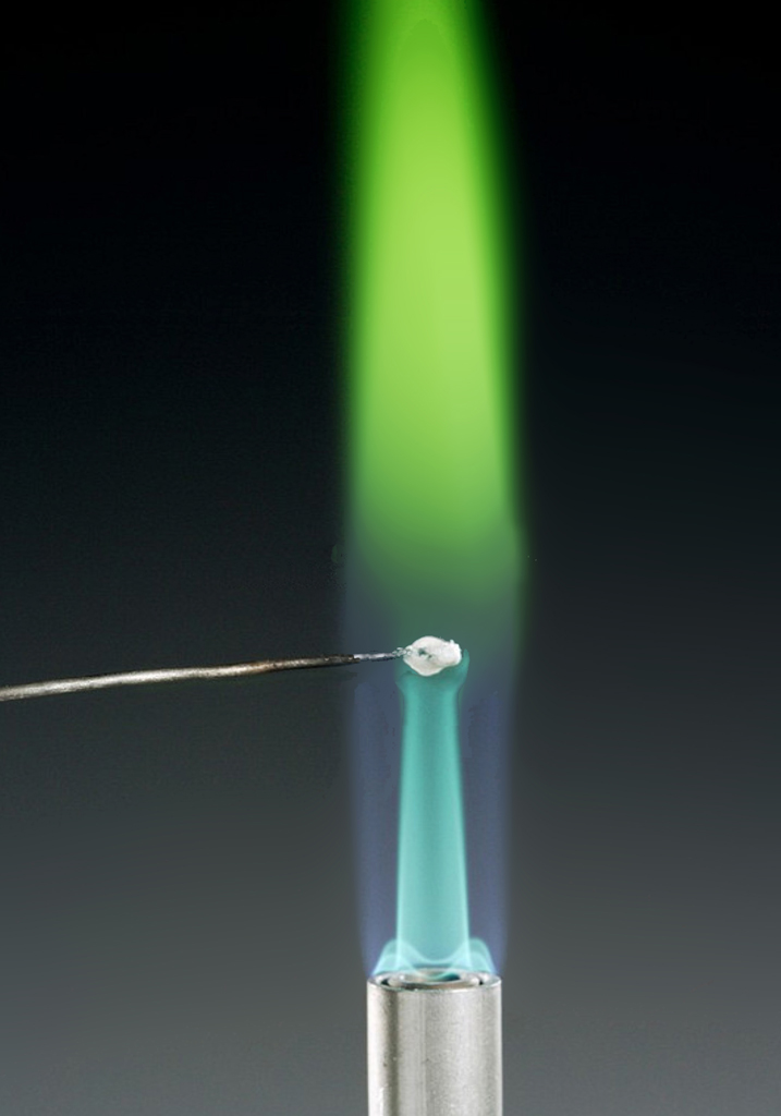 boron flame test