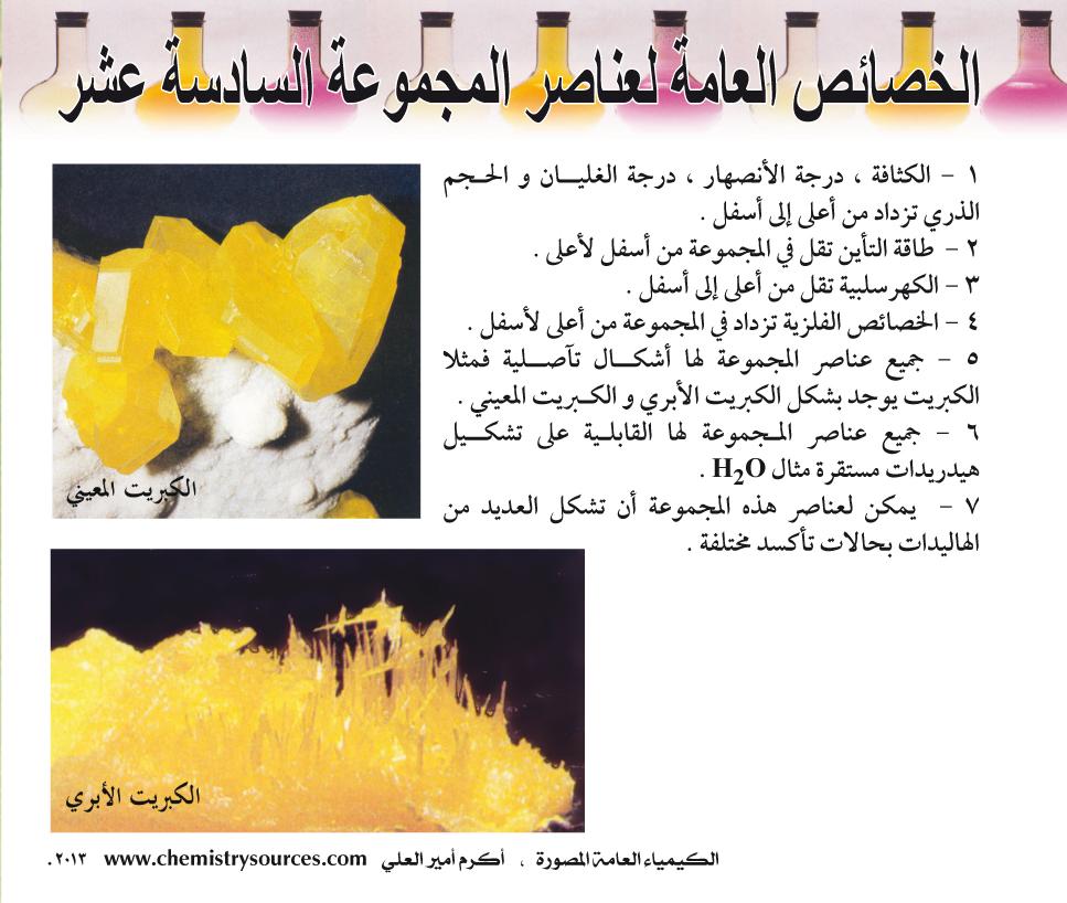 الكيمياء العامة المصورة أكرم العلي صفحة 129