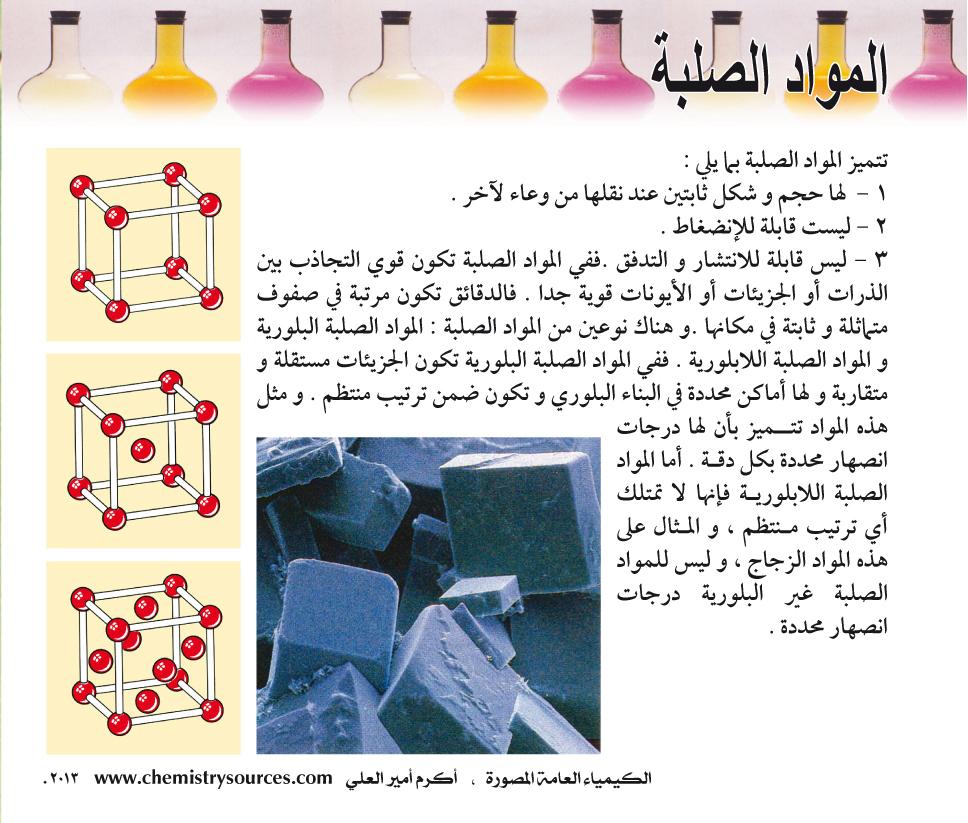 الكيمياء العامة المصورة أكرم العلي صفحة 69