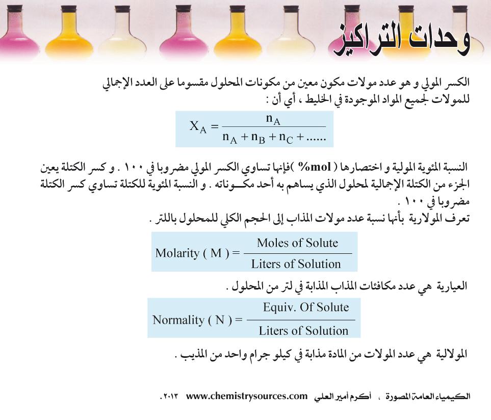 الكيمياء العامة المصورة أكرم العلي صفحة 74