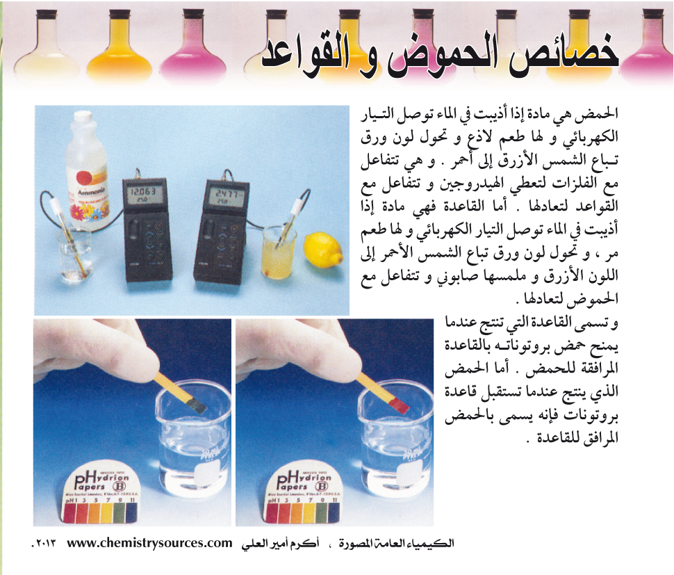 الكيمياء العامة المصورة أكرم العلي صفحة 83
