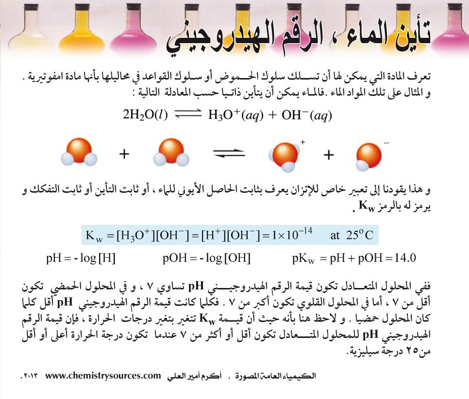 الكيمياء العامة المصورة أكرم العلي صفحة 85