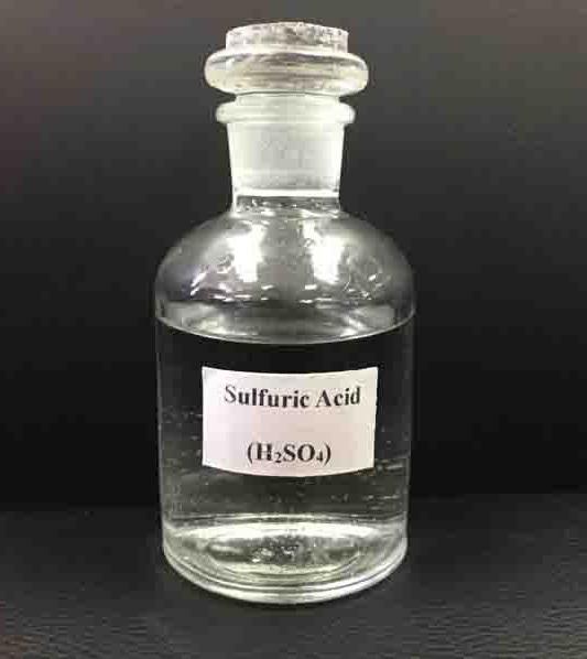 حمض الكبريتيك sulfuric acid