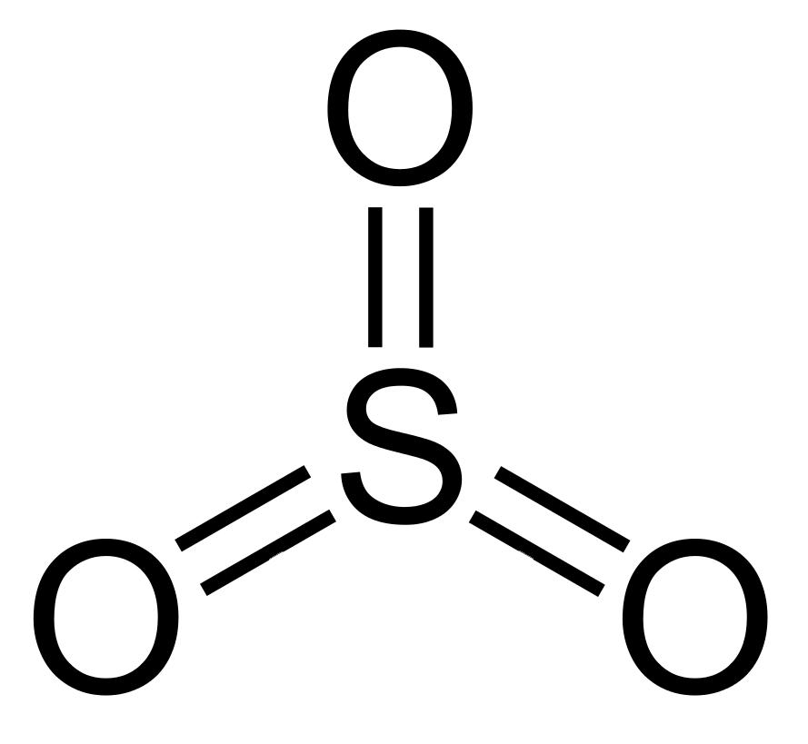 ثالث أكسيد الكبريت sulfur trioxide
