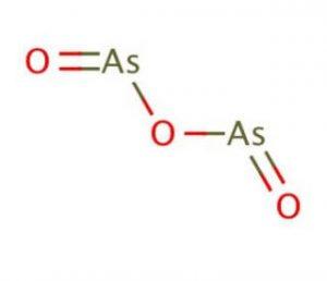 ثلاثي أكسيد الزرنيخ Arsenic (III) Oxide