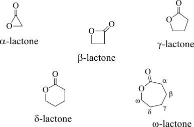 لاكتونات Lactones