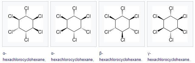 سداسي كلوريد الهكسان الحلقي Hexachlorocyclohexane