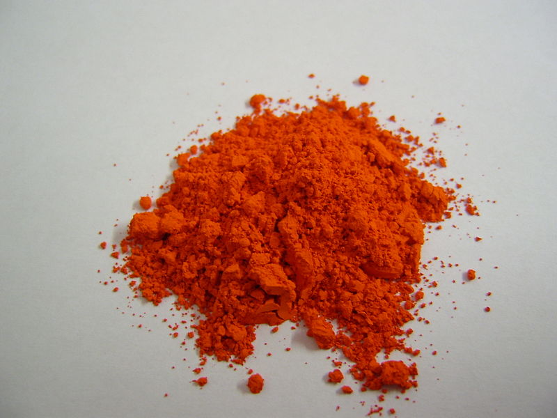 أكسيد الرصاص الأحمر (أكسيد الرصاص الثنائي والرباعي) Lead (II,III) Oxide Red