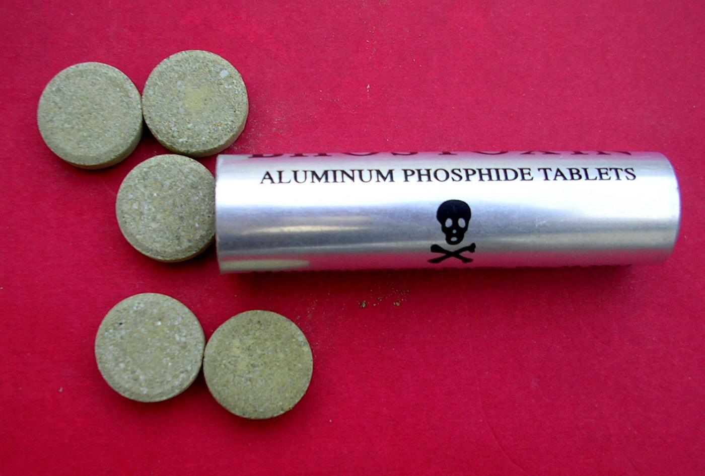 فوسفيد الألومنيوم Aluminium phosphide