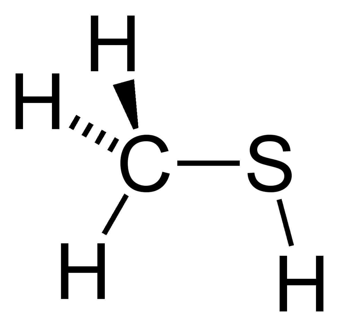 ميثانثيول Methanethiol