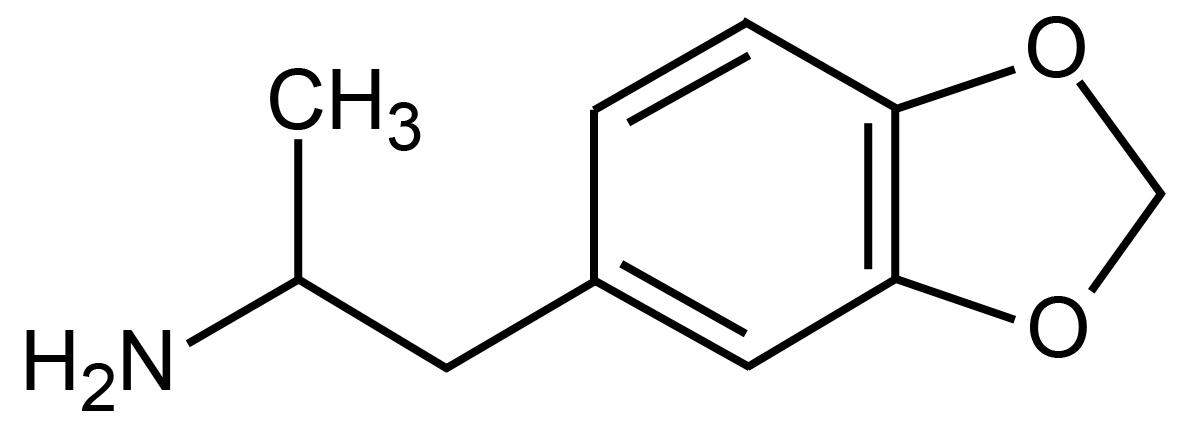 ميثيلين ثنائي أكسيد أمفيتامين (4،3-) Methylenedioxyamphetamine