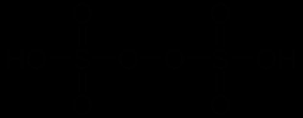 فوق ثنائي حمض الكبريتيك Perdisulphuric Acid