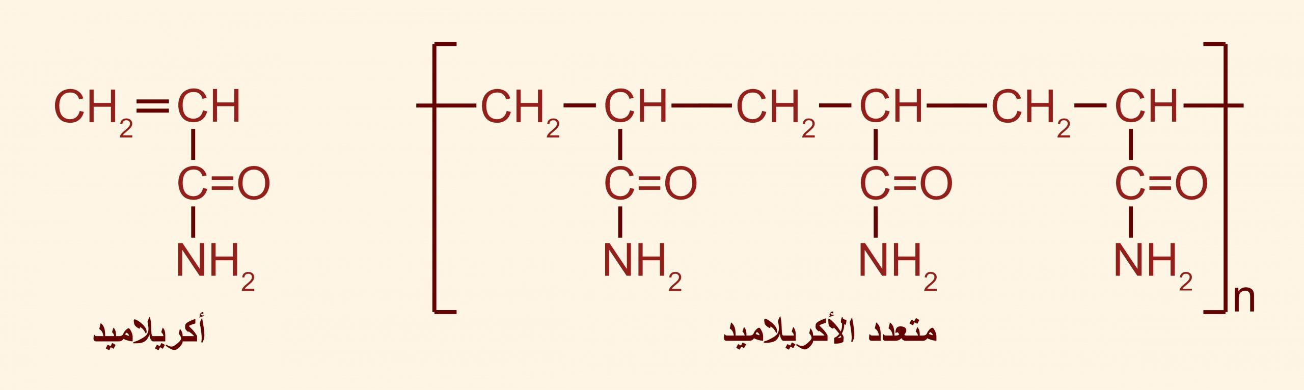 متعدد الأكريلامايد (متعدد الأكريلاميد - عديد الأكريلاميد)Polyacrylamide