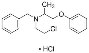 هيدروكلوريد فينوكسي بنزامين  Phenoxybenzamine Hydrochloride  C18H22ClNO.HCl