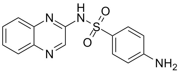ن-2-كينوكسيل سلفانيليمايد N-2-Quinoxalysulfanilimide