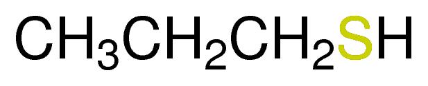 ميركابتان البروبيل العادي n-Propyl Mercaptan   C3H7SH