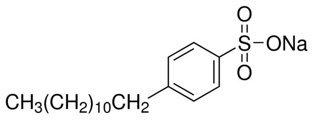 دوديسيل بنزين سلفونات الصوديوم Sodium dodecylbenzenesulfonate C18H29SO3Na