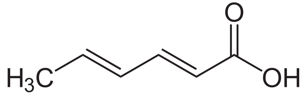 حمض السوربيك Sorbic Acid CH3CH=CHCH=CHCOOH