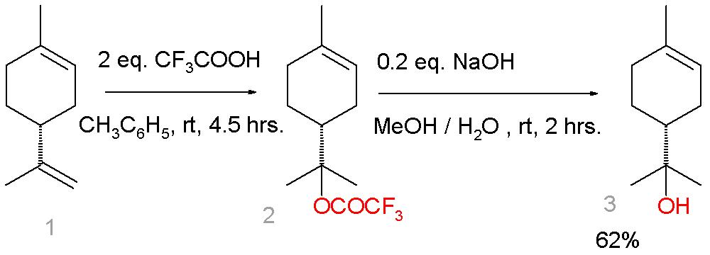 تيربينيول (تربينيول) Terpineol