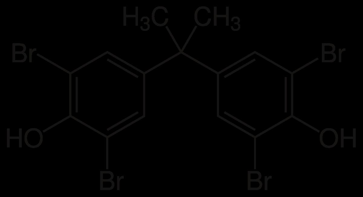 رباعي برومو ثنائي الفينول Tetrabromobisphenol A