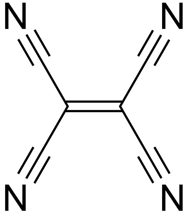 رباعي سيانو الإيثيلين (رباعي سيانيد الإيثيلين) Tetracyanoethylene