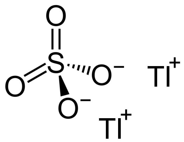 كبريتات الثاليوم Thallium Sulfate