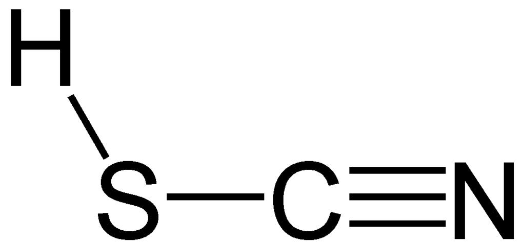 حمض الثيوسيانيك Thiocyanic Acid