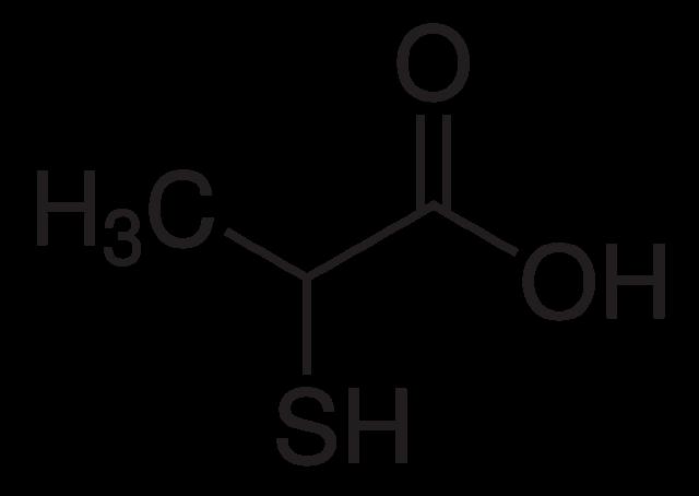 ثيو حمض الخليك، حمض الخليك الكبريتي، حمض الثيوخليك Thiolactic Acid